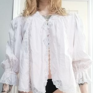 Vintage 80's Lingerie Sleep Shirt by Natori
